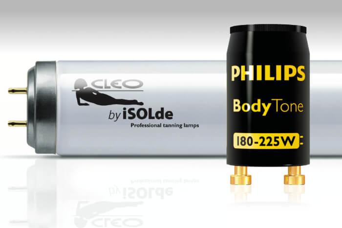 CLEO Niederdrucklampen und Philips Starter- Ein perfektes Team